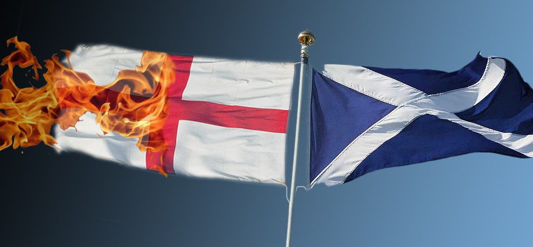 Scotland rising from the ashes as England goes down in flames?