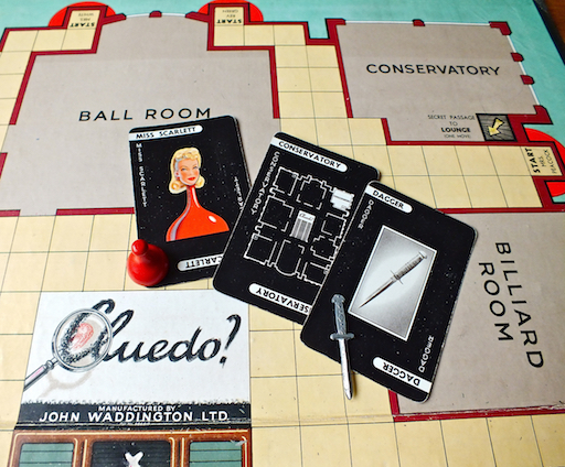 Cheating at Cluedo. How Conservatives do it all the time.