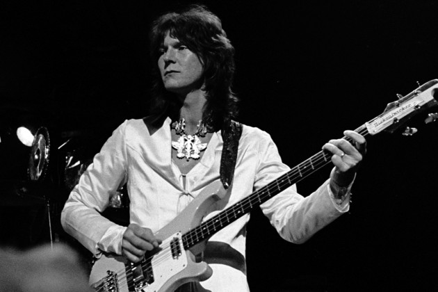 Chris Squire.  Fish out of water no more.