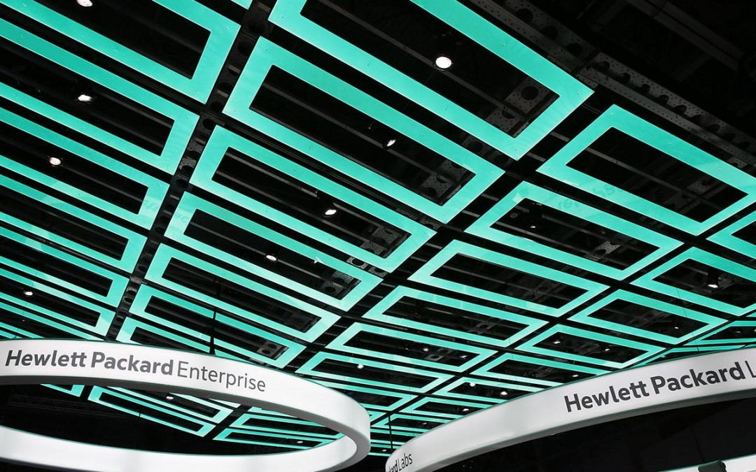 Welcome Hewlett Packard Enterprise
