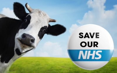 The sacred cow of austerity inflicts madness on the NHS